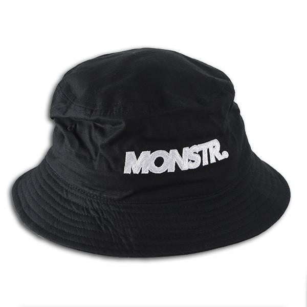 Monstr Bucket Hat (Black/White)