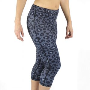 Miss Monstr – Women's capri online Tights High Waist (Leopard)