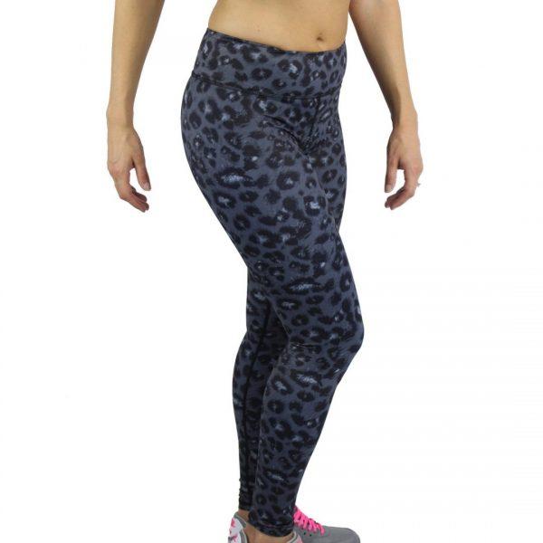 Miss Monstr - Full Length Tights High Waist (Leopard)