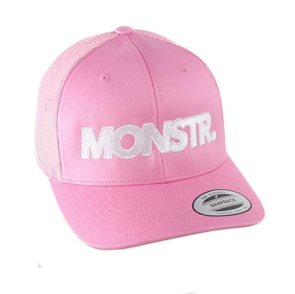 Flexfit Big Monstr Trucker Cap (Pink)