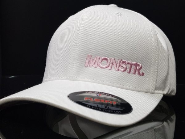 Flexfit Little Monstr Cap (White/Pink)
