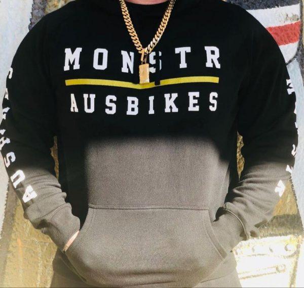 Monstr x Ausbikes Hoody V2