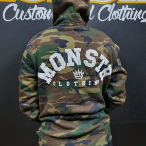 Monstr BRIDGE Hoody (Camouflage)
