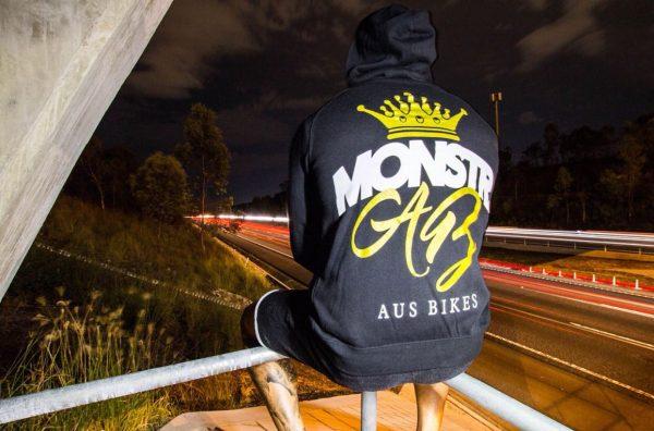 Monstr x Ausbikes Hoody