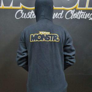 Team Monstr Hoody - Zip front
