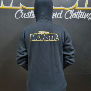 Team Monstr Hoody (Kids/Ladies) - Zip front
