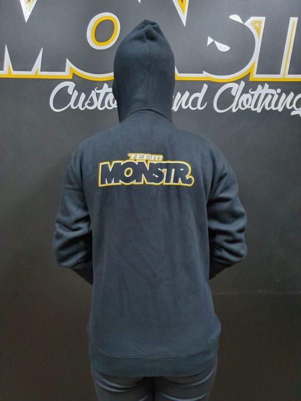 Team Monstr Hoody (Kids/Ladies) - Zip front