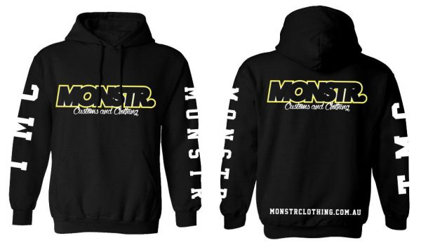 Monstr Customs and Clothing hoody