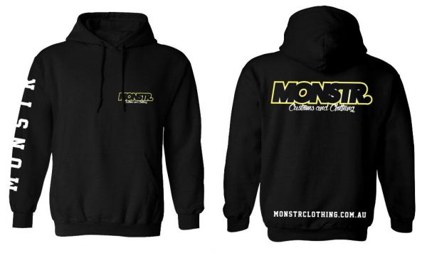 Monstr Customs and Clothing hoody V2