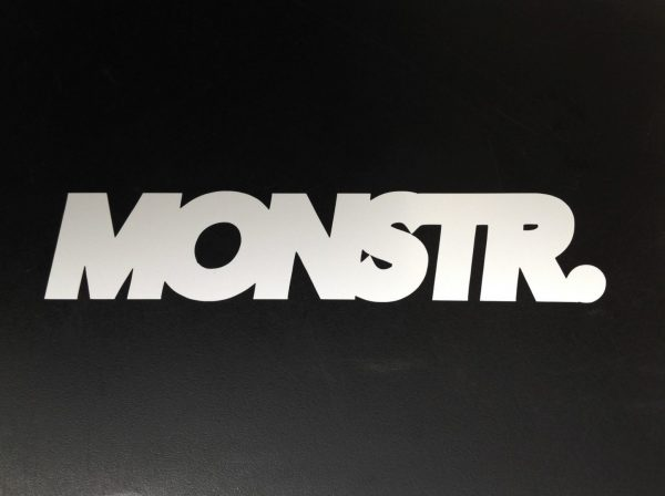MONSTR. stickers (assorted colours) 10 pack