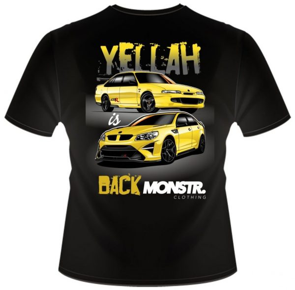 Team Monstr - Yellah